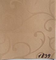 Рулонная штора Акант (880х1600). 1839. Капучино.