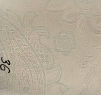 Рулонная штора Барокко (780х1600). 36. Слоновая кость.