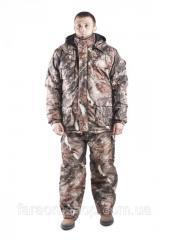Зимний костюм, дубовый лес, коричневый