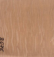 Рулонная штора Лазурь (1400х1600). 2076. Персик.