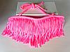 Розовый бандо с бахромой лиф, фото 3