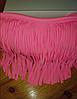 Розовый бандо с бахромой лиф, фото 4