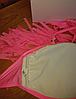 Розовый бандо с бахромой лиф, фото 5