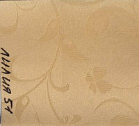 Рулонная штора Лилия (480х1600). 51. Персик.