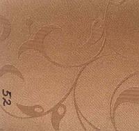 Рулонная штора Лилия (480х1600). 52. Коричневый.