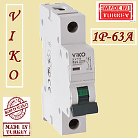 Автоматические выключатели (автомат) Vi-Ko 1p 63А