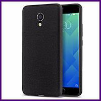 Чехол грязезащищающий TPU для смартфона Meizu M5 (BLACK)