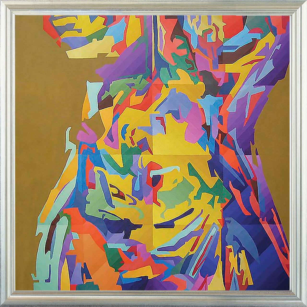 Репродукция картины современных художников «Афродита 8» 60 х 60 см