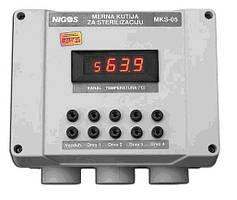 Автоматизована система реєстрації даних процесу термообробки деревини та дерев'яної тари MKS-05