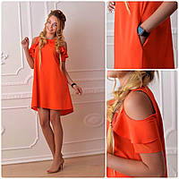 Платье 785 коралл, фото 1