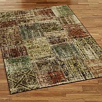Состареные ковры, ковры под старину, ковер из вискозы Бельгия, фото 1