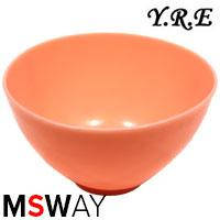 YRE Миска MPR-00/L средняя силикон для приготовления масок цветная, фото 2