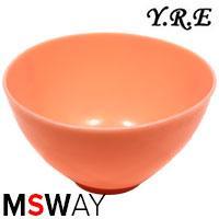 YRE Миска MPR-00/L средняя силикон для приготовления масок цветная