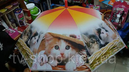 Зонт детский Котики