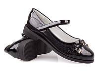 Подростковая обувь. Туфли для девочек оптом от фирмы Bessky (Kellaifeng) YL7122-1 (8 пар, 32-37)