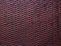 Плащевая ткань Мемори стеганая на синтепоне подложкой на трикотаже с резинкой Бордовая