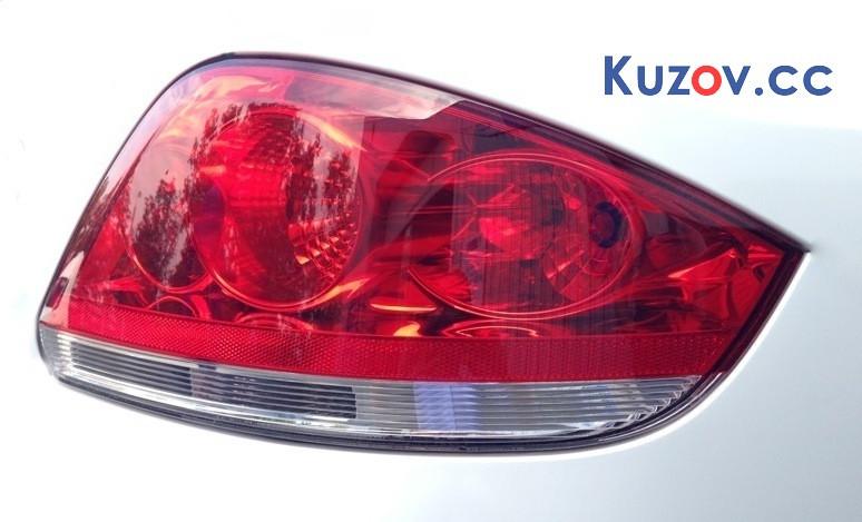 Задний фонарь Fiat Linea 07-15 правый (Depo) 51753752