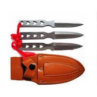 Набор метательных ножей + чехол 3в1