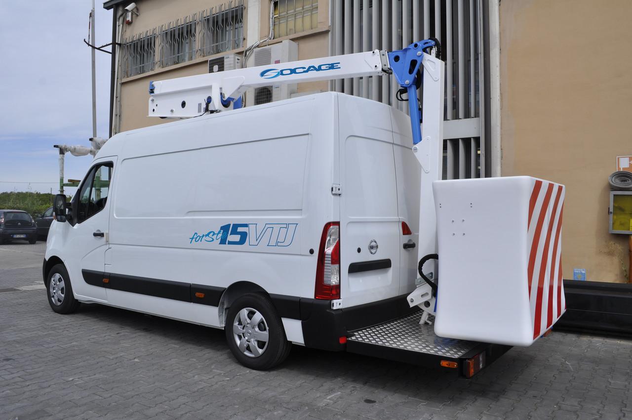 Автовишка Socage VT15
