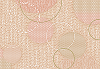 Виниловые обои Ланита Сатурн декор ВК4-0825 (темно-бежевый)