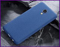 Чехол грязезащищающий TPU для смартфона Meizu M5 (BLUE)