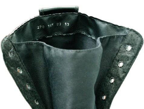 Берцы (ботинки с высокими берцами)  кожа облегченные Лето вставка ткань ПУ (литая) подошва черные, фото 2