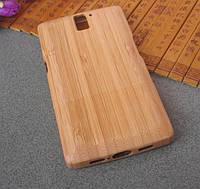 """OnePlus One Оригинальный бамбуковый чехол корпус крышка бамбук на телефон """"BAMBOO"""""""