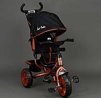 Велосипед трехколёсный Best Trike 6570 бронзовый, колеса пена, фото 1