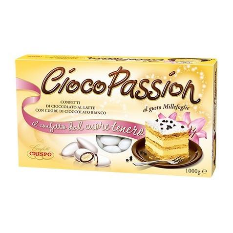 Конфеты шоколадные Crispo Cioco Passion Millefoglie, 1 кг