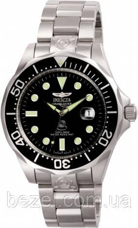 Мужские часы Invicta Grand Diver 3044 Инвикта водонепроницаемые часы с автозаводом