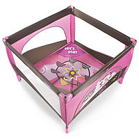 Детский манеж Play Up - Baby Design - Польша - мягкий матрасик, ручки-поднимашки, лаз на молнии