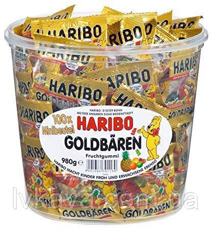 Желейные конфеты Haribo Goldbaren, 980 гр