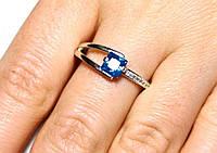 Кольцо серебро 925 проба 19 размер АРТ1233, фото 1