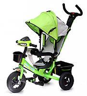 Детский трехколесный велосипед Baby trike CT-61 зеленый
