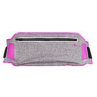 Сумка на пояс для телефона для бега и тренировок в зале Floveme Pink