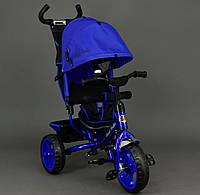 Велосипед трехколёсный Best Trike 6570 синий электрик, колеса пена, фото 1