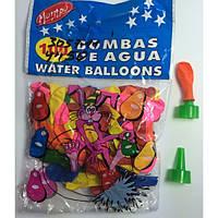 Воздушные шары 11177 Шар-Бомбочка с насадкой 100шт