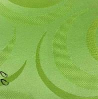 Рулонная штора Фиеста (830х1600). 00. Салатовый.