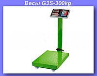 Весы электронные торговые BITEK 300кг с усиленной платформой 40х50см YZ-909-G3-300kg