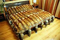 Меховые покрывало с шкур лесице