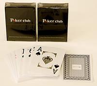 Игральные карты пластиковые
