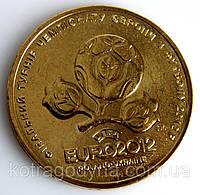 Юбилейная монеты Украина 1 гривна 2012 г. ЕВРО-2012, фото 1