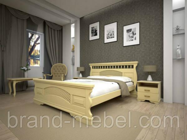 """Деревянная кровать """"Атлант 23"""""""