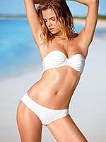Женский белый купальник Victoria's Secret