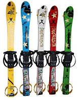 Набор лыжный детский RE:FLEX 90см (лыжи+палки) белый
