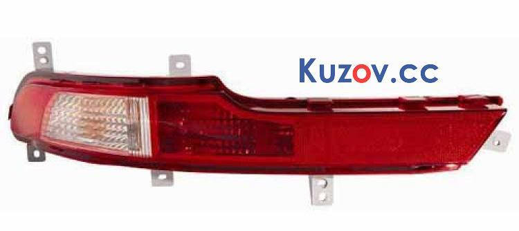 Фонарь задний в бампер Kia Sportage 2010- левый (Depo) 924053U300, фото 2
