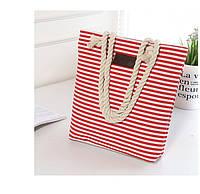 Женская пляжная сумка в полоску PM7378