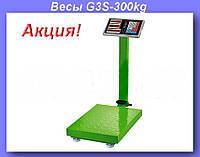 Весы электронные торговые BITEK 300кг с усиленной платформой 40х50см YZ-909-G3-300kg!Акция
