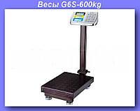 Весы электронные торговые BITEK 600кг с усиленной платформой 45х60см YZ-909-G6S-600kg!Опт
