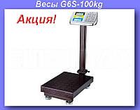 Весы электронные торговые BITEK 100кг с усиленной платформой 30х40см YZ-909-G6S-100kg!Акция
